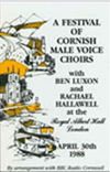 Festival of Cornish Male Voice Choirs